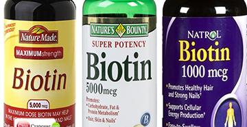 Биотин от различных производителей