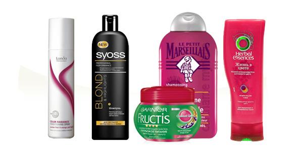 Средства по уходу за окрашенными волосами