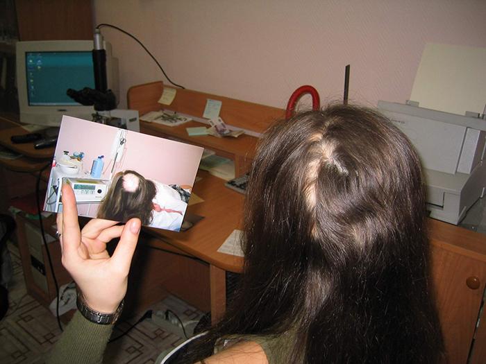 Как наносить маску для волос из репейного масла с перцем