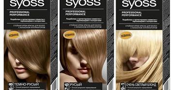 Syoss - краска для волос