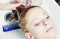 Процедура осветления волос