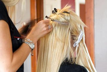 Технология удлинения волос
