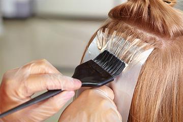 Осветление волос краской Супра