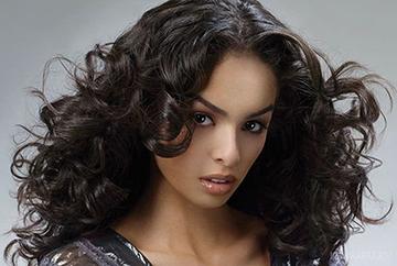 Завивка волос крупные локоны