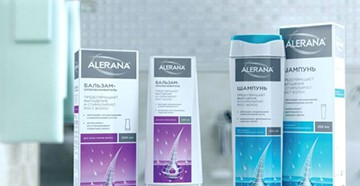 Средства Alerana для роста волос и против выпадения