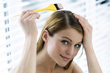 Нанесение супры на волосы