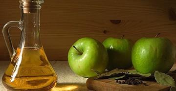 Яблочный уксус для ополаскивания волос