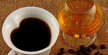 Коньяк и кофе для волос