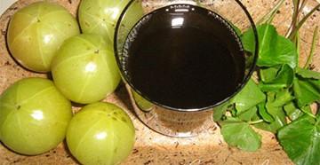 Масло амлы - индийского крыжовника