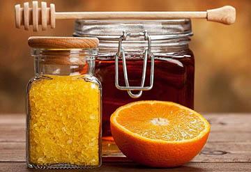 Маска с медом и морской солью