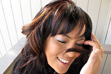 Фото мелированных и окрашенных волос