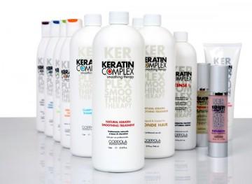 состав для выпрямления волос кератин