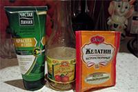 Ингредиенты для домашнего ламинирования