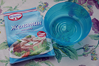 Желатин пищевой для домашнего ламинирования