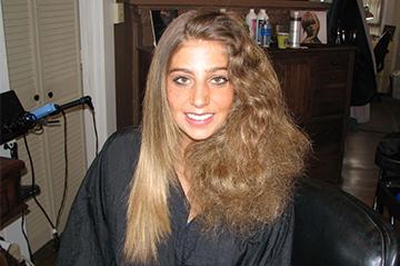 Бразильское кератиновое выпрямление вьющихся волос
