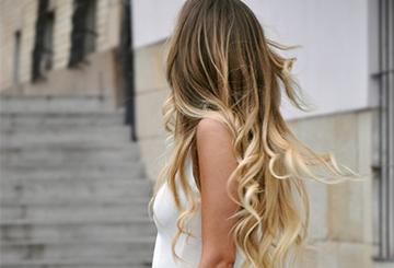 Обмре на темно-русые волосы