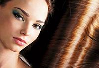 Здоровый блеск волос после ламинирования