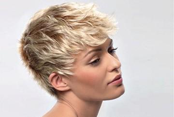 Колорирование на коротких волосах
