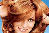 Колорирование на рыжих волосах