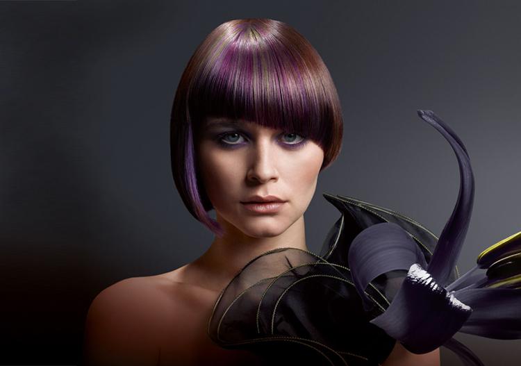Колорирование фиолетовым