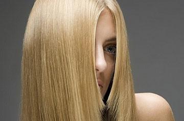 Восстановление волос кератином