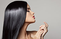 Волосы после выпрямления кератином