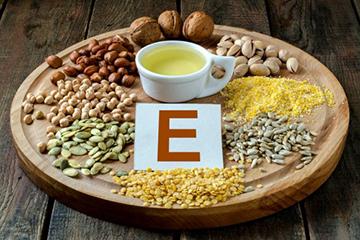 Продукты богатые витамином Е