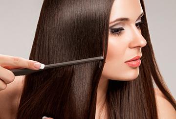Правильное расчесывание волос