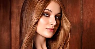 Карамельные волосы