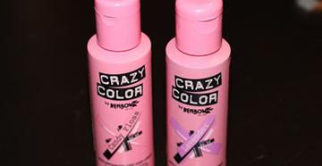 Упаковки краски Crazy Color
