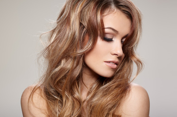 Золотисто карамельный цвет волос краска