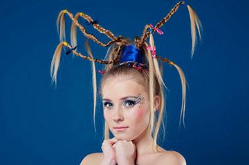 косички для завивки волос