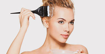 окрашивание без вреда волосам