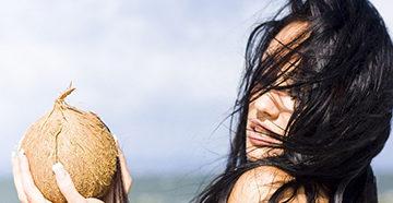 кокос для волос
