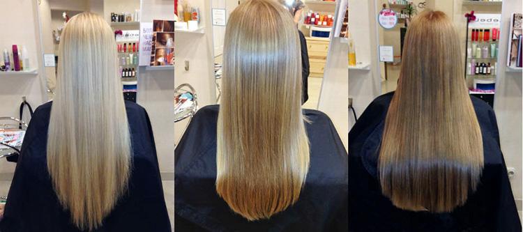 Процедура счастья для волос