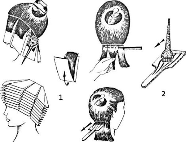 Технология мелирования волос
