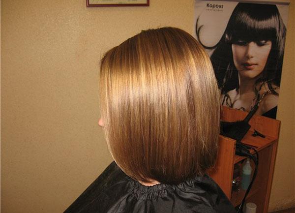 Волосы окрашенные краской Капус