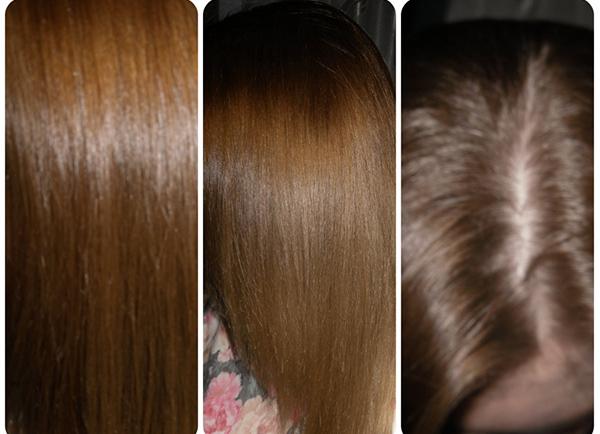 Волосы после окрашивания Гарньер Роскошный цвет