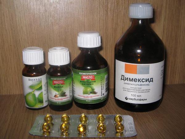 Ингредиенты для маски с капсульными витаминами