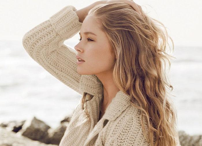 Русые волосы - калифорнийское мелирование