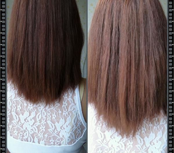 Эксперт волос - результат применения
