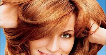 Мелирование на рыжих волосах