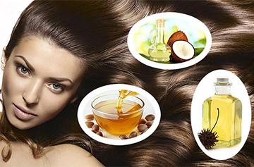 Народные средства для роста волос на основе масел