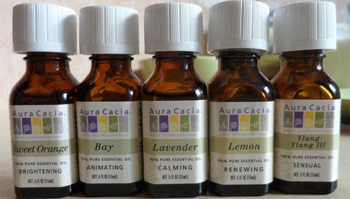 Эфирные масла для волос и ароматерапии