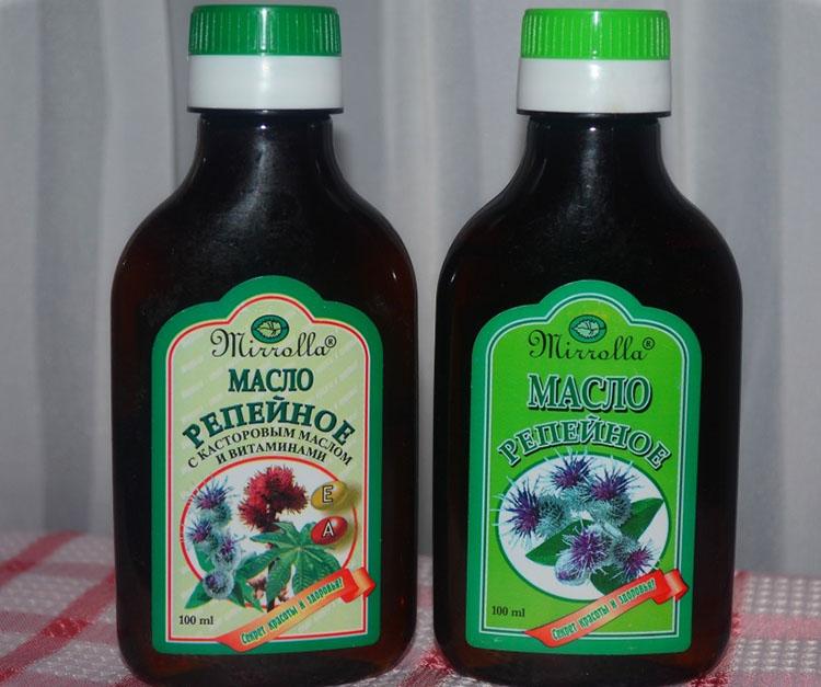 Репейное масло Миролла