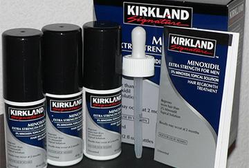 Minoxidil Kirkland от облысения