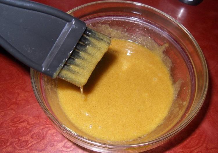Маска из горчицы и воды