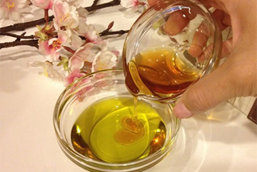 Маска с медом и оливковым маслом