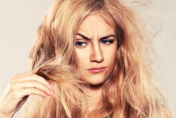 Волосы ломкие и сухие
