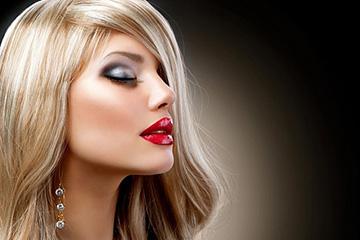 Мелирование отросших корней волос у блондинок